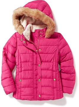 Old Navy Hooded Frost Free Jacket for Girls