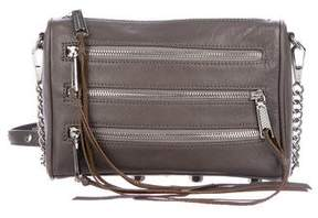 Rebecca Minkoff Moto 3-Zip Crossbody Bag