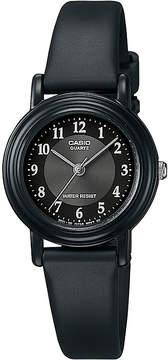Casio Womens Black Resin Strap Watch LQ139A-1B3OS