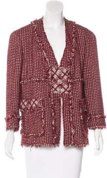 Chanel Button-Up Tweed Jacket w/ Tags