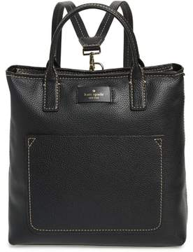 Kate Spade Maple Street - Kenzie Leather Convertible Backpack