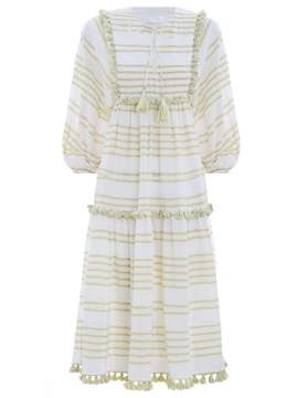 Zimmermann Lumino Woven Stripe Dress
