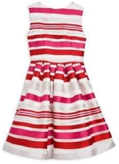 Helena and Harry Toddler's, Little Girl's& Girl's Satin Dress