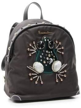 Braccialini Keira Embellished Frog Backpack
