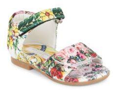 Dolce & Gabbana Baby's Floral-Print Sandals