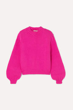 Ulla Johnson – Merino Wool Sweater – Fuchsia