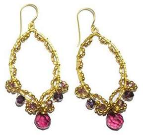 Ananda Handmade Brass Earrings