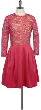 Erin Fetherston Pink Rose Bud Dress