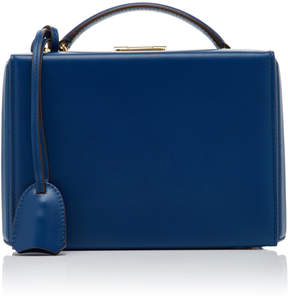 Mark Cross Grace Leather Small Box Bag