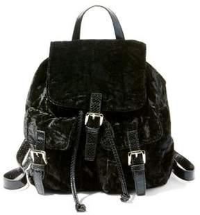 Steve Madden Bearl Velvet Backpack