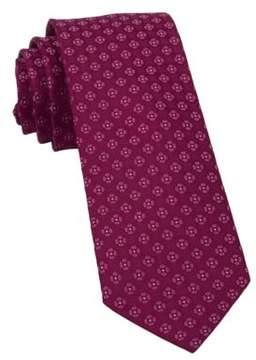 The Tie Bar Medallion Silk Tie