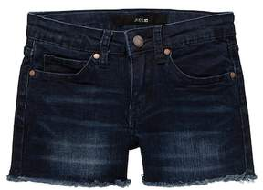 Joe's Jeans Mid Rise Frayed Denim Shorts (Big Girls)