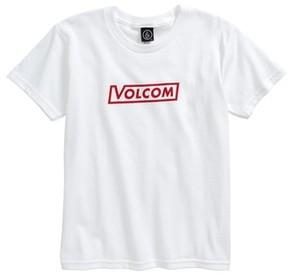 Volcom Toddler Boy's Vol Corp Graphic T-Shirt