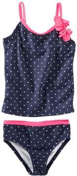 Osh Kosh Oshkosh Bgosh Baby Girl Polka-Dot Tankini & Bikini Bottoms Swimsuit Set