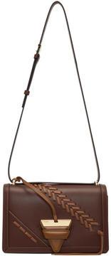 Loewe Tan and Brown Laced Barcelona Bag