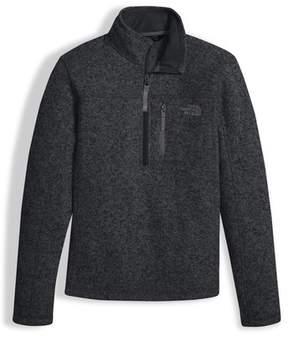 The North Face Boy's Gordon Lyons Quarter Zip Pullover