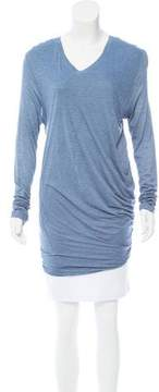 Barbara Bui Jersey Knit Long Sleeve Top w/ Tags
