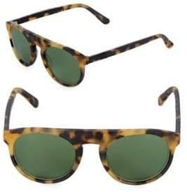 Westward Leaning Atlas Tortoise Shell Browline Sunglasses
