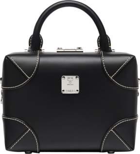 MCM Soft Berlin Ns Crossbody In Vachetta Leather