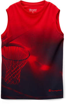 Champion Crimson Basketball Hoop Muscle Tee - Toddler & Boys