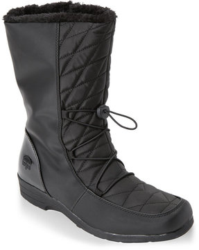 totes Black Polly Snow Boots