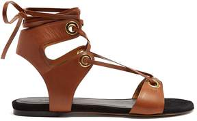 Isabel Marant Jaysta lace-up leather sandals
