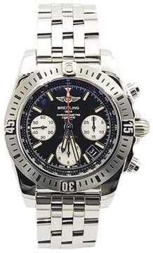 Breitling Chronomat AB0144 Stainless Steel with Black Dial 41mm Mens Watch