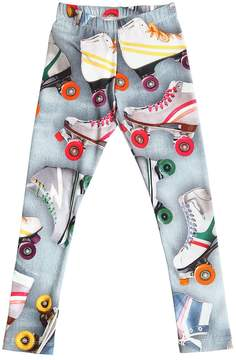 Molo Roller Skates Cotton Jersey Leggings
