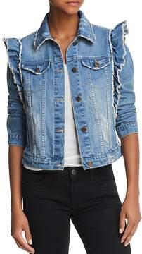 Bagatelle Ruffled Denim Jacket