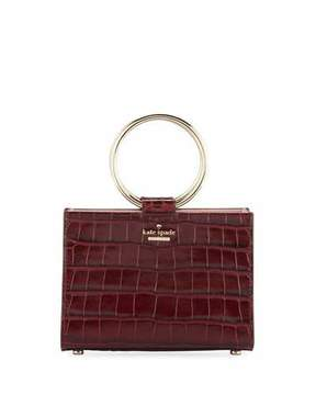 Kate Spade White Rock Road Luxe Sam Mini Top Handle Bag
