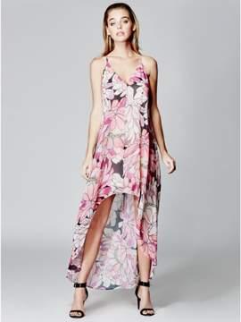 Marciano GUESS by Women's Gradient Garden High-Low Dress