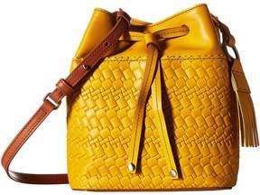 Lodis Rodeo Woven RFID Blake Small Drawstring Drawstring Handbags