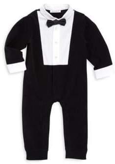 Dolce & Gabbana Baby Boy's Pintuck Suit Romper