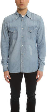 Remi Relief Chambray Western Shirt Repair