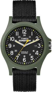 Timex TW4999800 Expedition Camper Men's Watch Black 40mm Stainless Steel