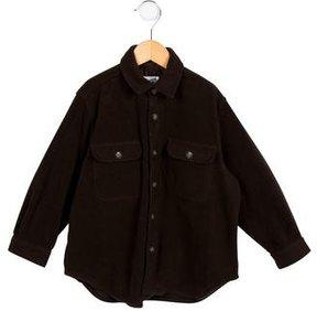 Bonpoint Textured Button-Up Shirt