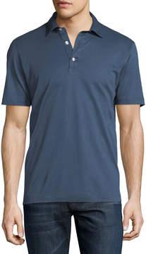 Neiman Marcus Culturata Cotton Polo Shirt