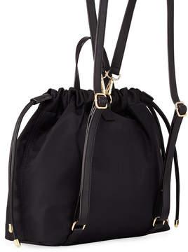 Neiman Marcus Trooper Studded Nylon Backpack