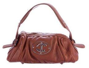 Just Cavalli Leather Shoulder Bag