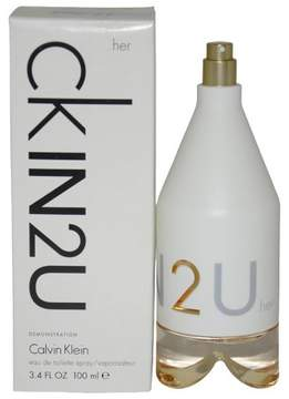 CKIN2U by Calvin Klein Eau de Toilette Women's Spray Perfume