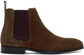 Paul Smith Brown Gerald Chelsea Boots