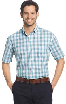 Arrow Big & Tall Coastal Cove Classic-Fit Plaid Button-Down Shirt