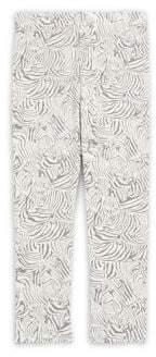 Imoga Little Girl's & Girl's Zebra-Print Leggings