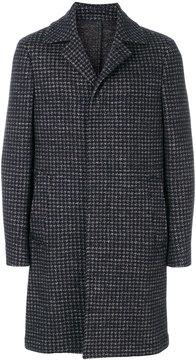 Lardini embroidered tailored coat