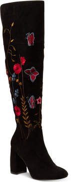 Nanette Lepore Nanette by Lisette Embroidered Over-The-Knee Boots Women's Shoes