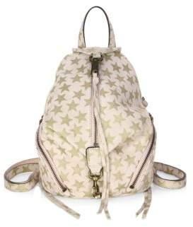 Rebecca Minkoff Convertible Mini Julian Suede Backpack - NUDE - STYLE