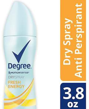 Degree Women Antiperspirant Deodorant Dry Spray Fresh Energy