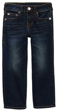 True Religion Geno Slim Straight Leg Jeans (Toddler & Little Boys)