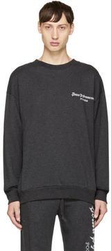 Gosha Rubchinskiy Grey Logo Sweatshirt