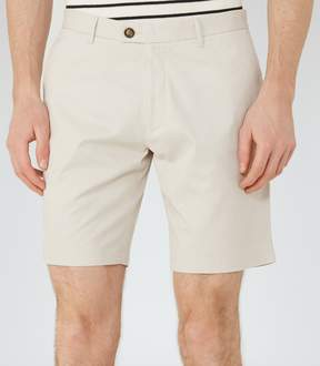 Reiss Wicker Tailored Cotton Shorts